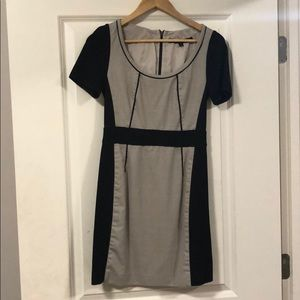 Marc by Marc Jacobs Grey and black a-line dress
